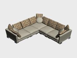Canapé d'angle TN (II-variante)