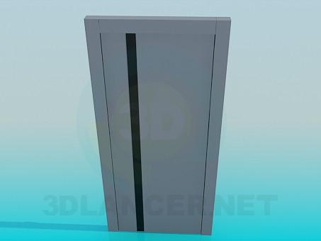modelo 3D Puertas de interior - escuchar