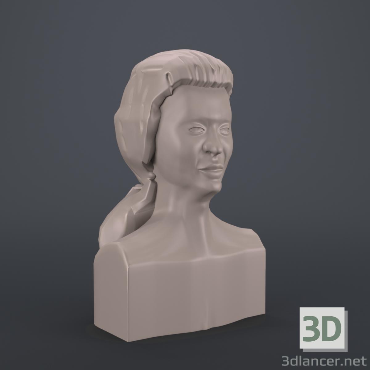 3d Indian woman model buy - render