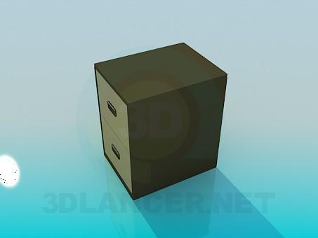 3d моделирование Тумба для документов модель скачать бесплатно