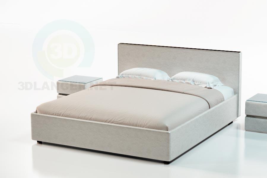 modelo 3D Suite cama de Kariba - escuchar