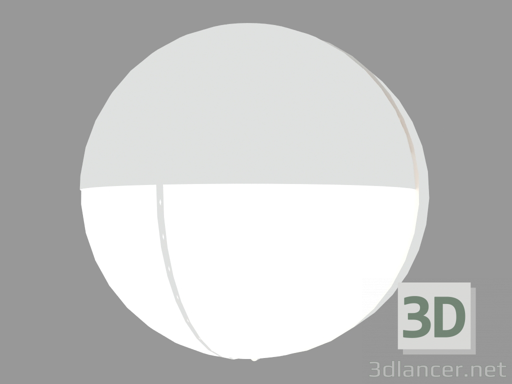 3d Model Wall Lamp PLAFONIERE ROUND WITH WISOR BUL 18 S6529