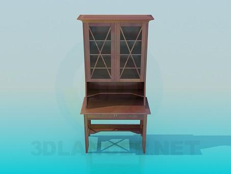 3d model Secretaire - preview