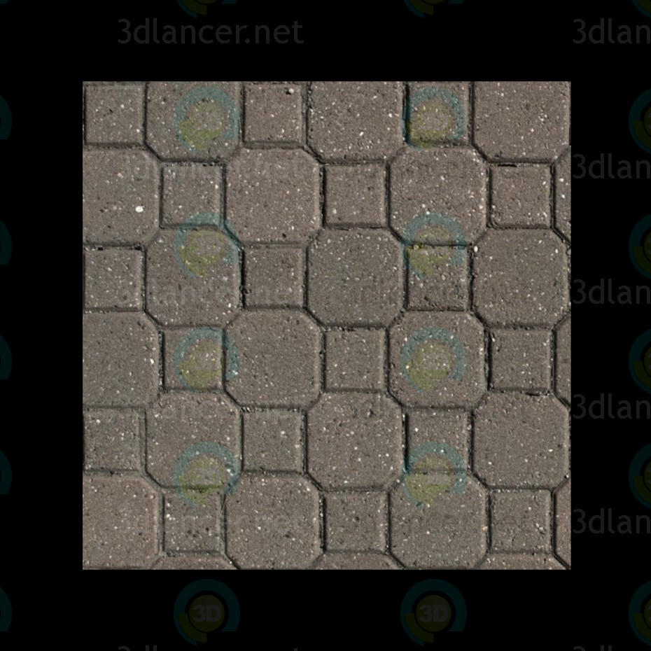 Texture Pavement tile free download - image