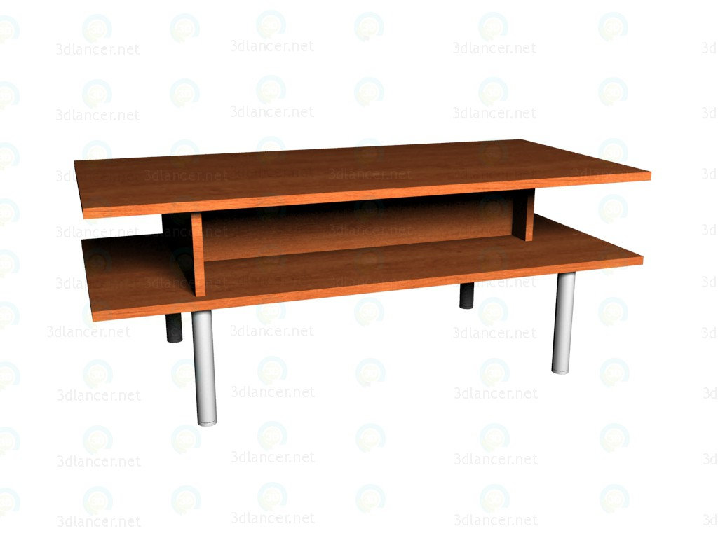3d model Coffee table (chrome) VOX - preview