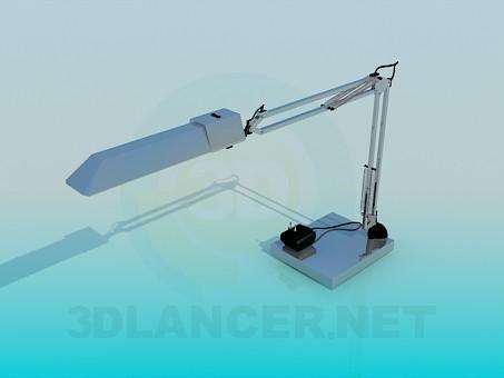3d модель Инженерная настольная лампа – превью