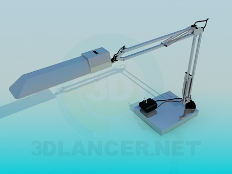 3d model Engineering desk lamp - preview
