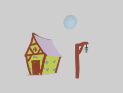 Combo Casa Lua et poste médiéval