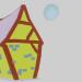 3d Casa Lua and Medieval Post combo model buy - render