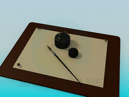 3d model Drawing Pad - preview