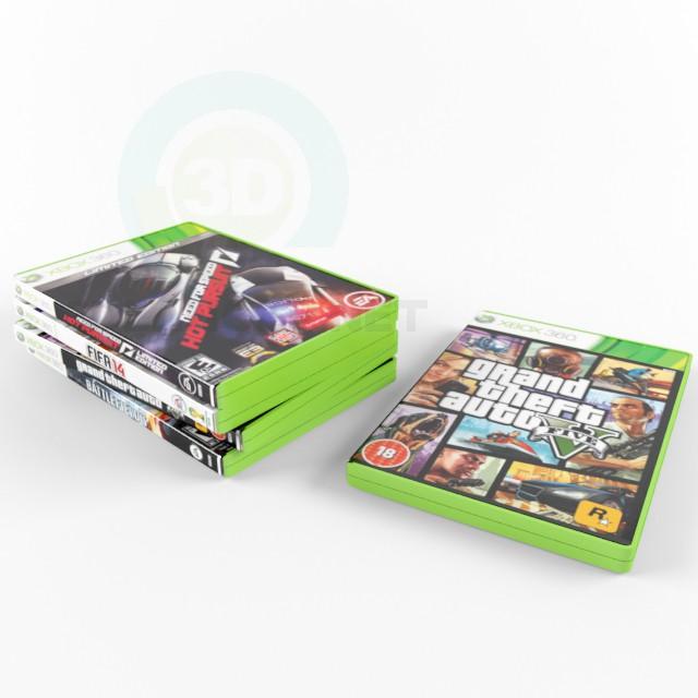 3 डी मॉडल disk xbox - पूर्वावलोकन