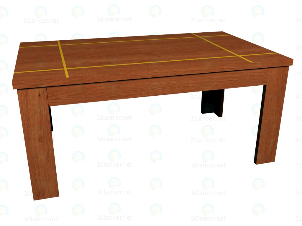 3d model coffee table manufacturer vox in the style of for Coffee table 3d model