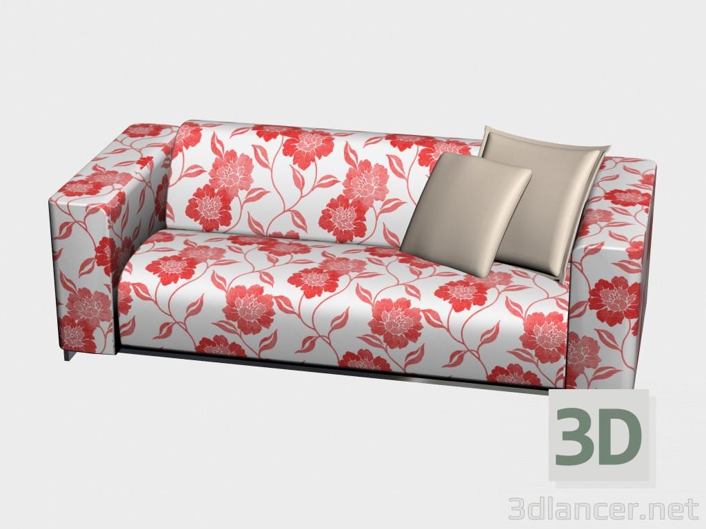3 डी मॉडल सोफा परिवर्तनीय डबल ट्रिनिटी - पूर्वावलोकन