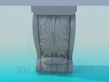 descarga gratuita de 3D modelado modelo Calado