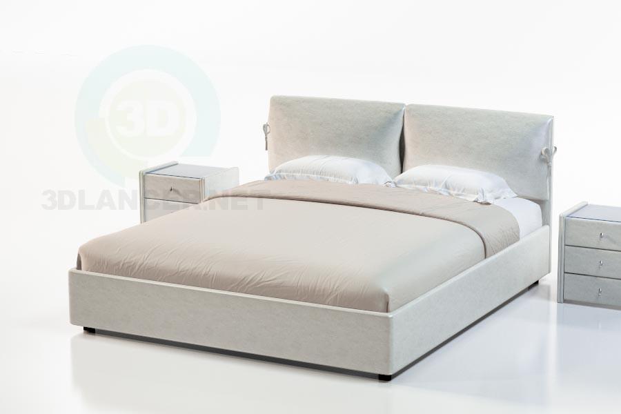 3d модель Ліжко Дейлі – превью