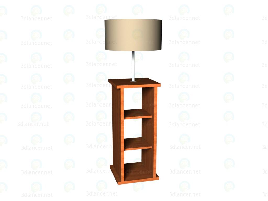 3d modeling Lamp floor model free download