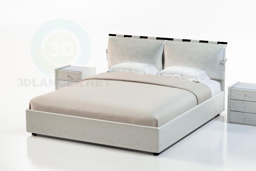 3d model Daley Bed Suite - preview