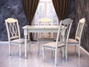 Table + Chair LT T 13302 BUTTERMILK