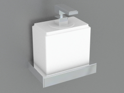 Wall holder soap dispenser (46413)