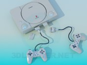 Game console SONY
