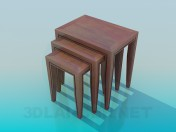 Stools in a set