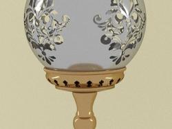 Lampe de style oriental