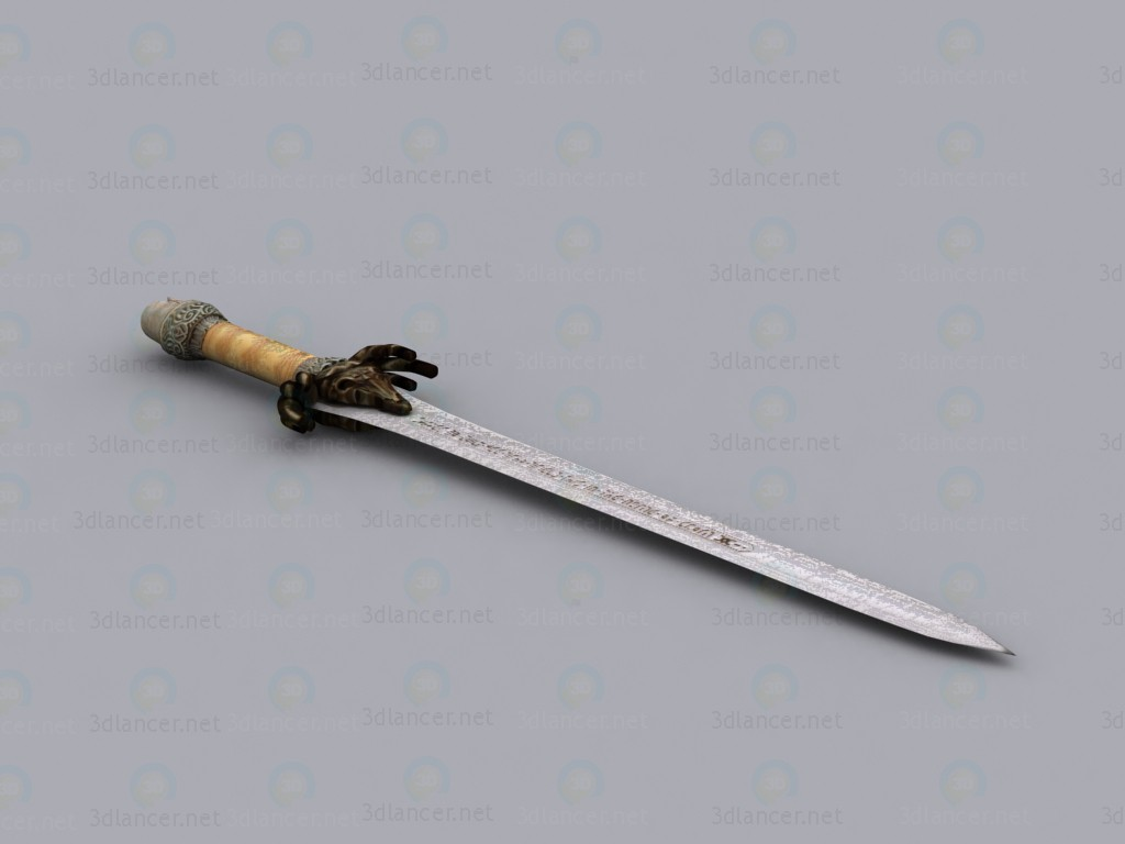 3d model Sword of Conan the barbarian - preview