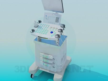 3d modeling Ultrasound model free download