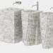 3d Washbasins Antonio Lupi model buy - render