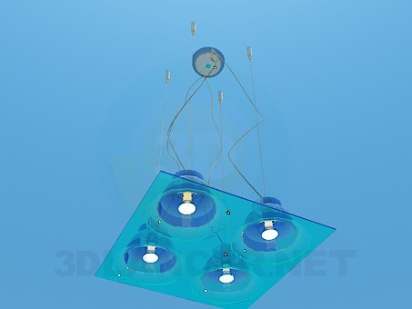 modelo 3D Luminaria plana la Plaza - escuchar