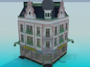 Угловое здание