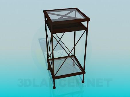 3d модель Подставка для газет – превью