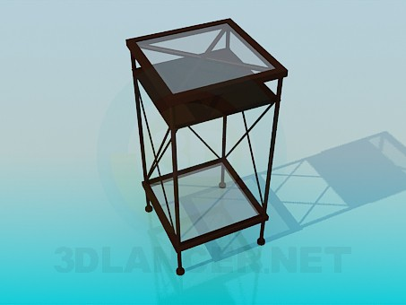 3d model Newspaper stand - preview