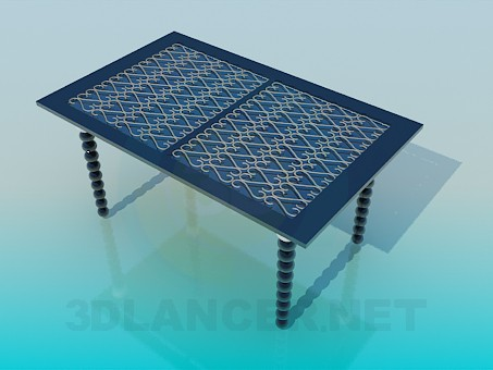 3d model Decorative Table - preview