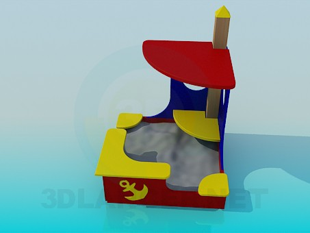 3d modeling Sandbox model free download