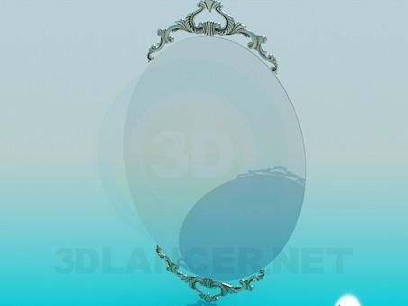 3d моделирование Зеркало на стену модель скачать бесплатно