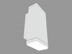 Wall lamp PLAN VERTICAL 90 SINGLE EMISSION (S3885W)