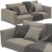 3d Andersen Minotti Sofa model buy - render