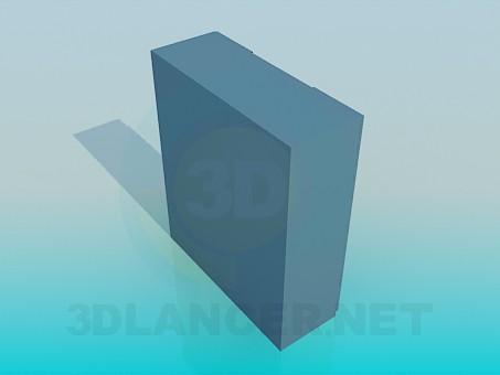 3d модель Шкафчик – превью