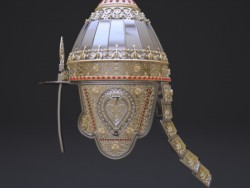 Russian helmet Prince (parade). 10-12 century