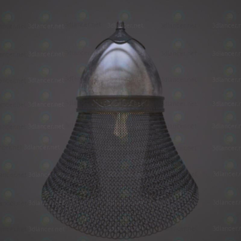 3d Russian helmet with the icon. model buy - render