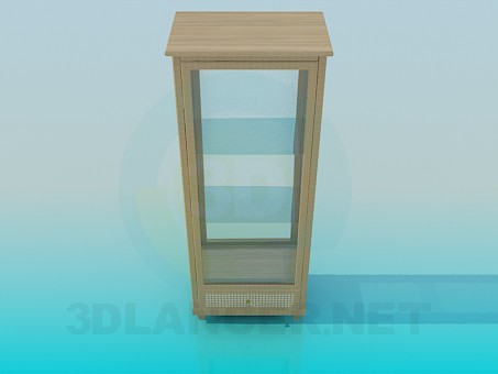 3d modeling Cupboard for souvenirs model free download