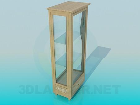 3d модель Шкафчик для сувениров – превью