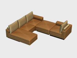 Modular corner sofa Apollo