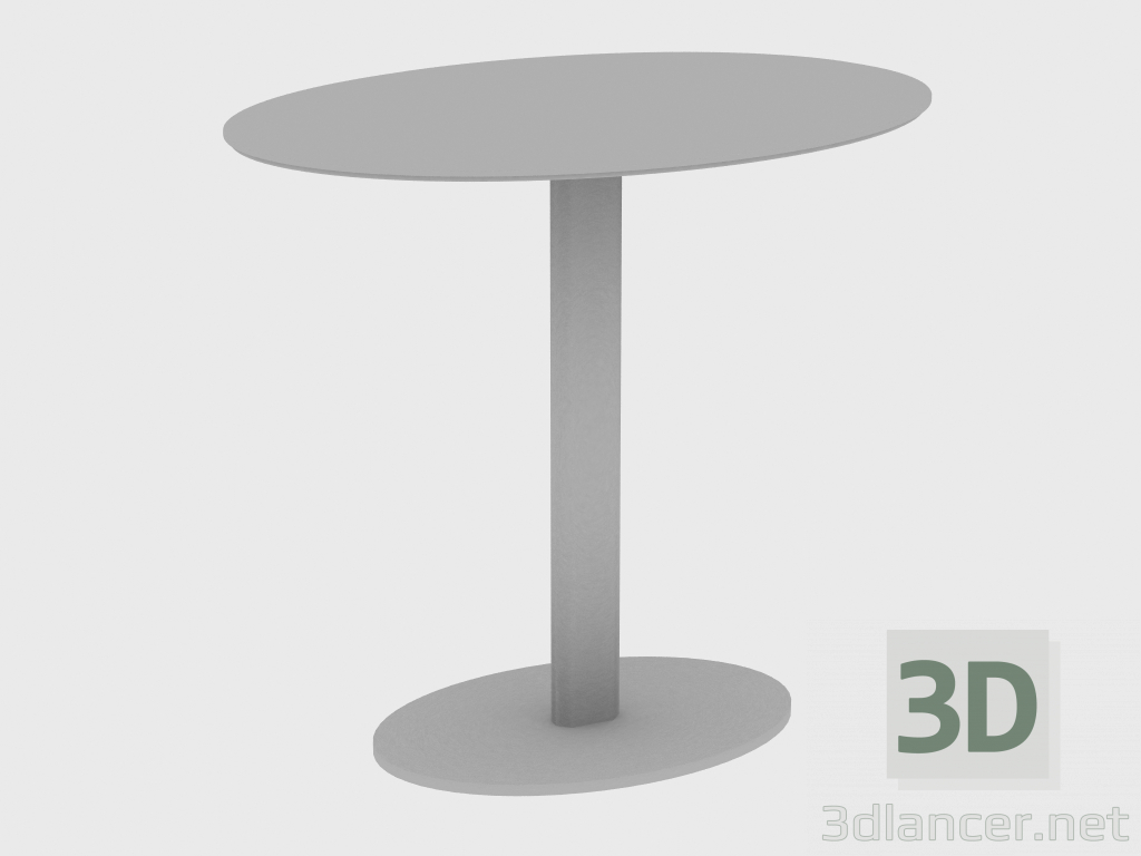 3d model Coffee table YAKI SMALL TABLE OVAL (60X40XH55) - preview