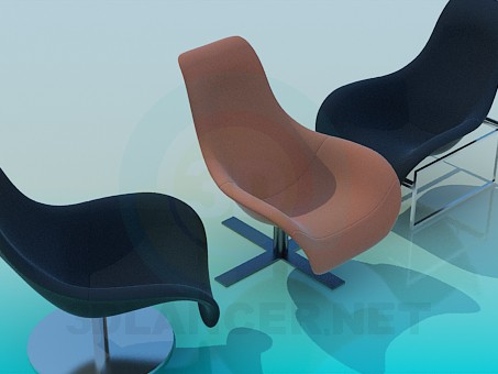 3d model Chairs - preview