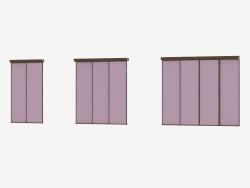 A5'in interroom bölümleri (bronza grisi)