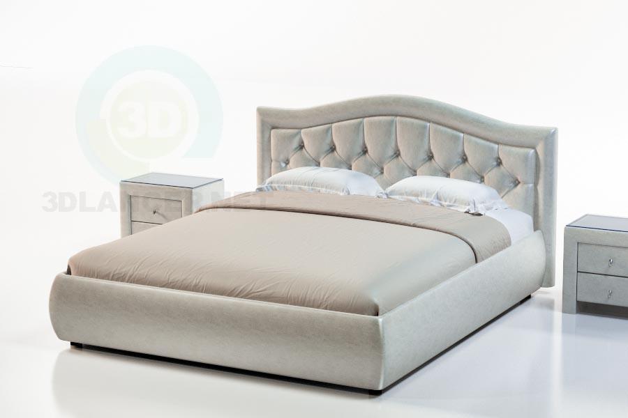 Modelo 3d Suite com cama Fiji - preview