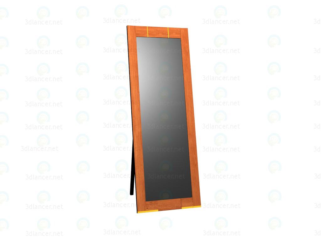 3d модель Зеркало напольное – превью