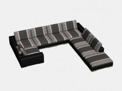Modulares Sofa Ecke Harvard